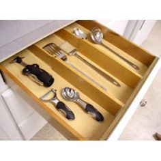Kitchen Drawer Dividers Organizers - come visit http://thekitchenlove.com/ for everything about the kitchen