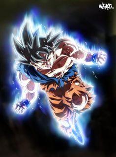 Ultra Instinct Goku wtf :v