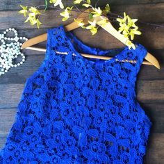 CYNTHIA ROWLEY (NWOT) crochet topper CYNTHIA ROWLEY (NWOT) crochet topper •Beautiful topper that's great for spring and summer •No stretch, armpit to armpits 17 1/2, length 23 (mg12) Cynthia Rowley Tops Tank Tops