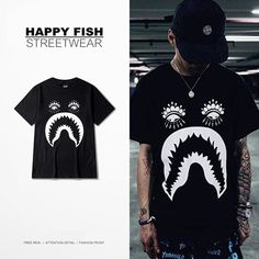 4da899134 2016 Summer Men T-shirt Funny Bape Prited Cotton Short Sleeve T Shirt  Fashion Trends
