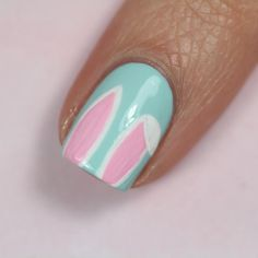 Easter Nails – Pictures – Hair, Nails, Skin – Tips, Tricks and Hacks Easter Nail Designs, Easter Nail Art, Best Nail Art Designs, Mint Candy Apples, Hoppy Easter, Types Of Nails, Some Recipe, Perfect Nails, Nail Polish Colors