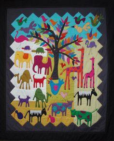 The Zoo - Wendy Williams - Australian Quilt Designer
