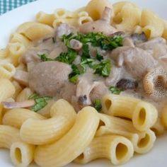 Druh receptu: Huby - Page 4 of 6 - Mňamky-Recepty. Slovak Recipes, Pesto, Risotto, Macaroni And Cheese, Spaghetti, Stuffed Mushrooms, Menu, Chicken, Ethnic Recipes