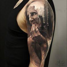 Beautiful tattoo by @arlotattoos ➖➖➖➖➖➖➖➖➖➖➖➖➖➖➖➖ Follow @realistic.ink for more amazing realistic tattoo ➖➖➖➖➖➖➖➖➖➖➖➖➖➖➖➖ #tatouage #тату #tatuaggi #blackandgreytattoo #art #inkedup #tattoo #tattoos #ink #inked #tatuaje #inktober #inkedup #realistictattoo #blackandgreytattoo #tattooedgirls #tattooedgirl #tatuagem #tatuaggios #realistic #blackandgrey #realism #realismo  #tatuaż #tatuaggio #タトゥー