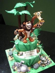 Madagascar Cake by *Sliceofcake on deviantART