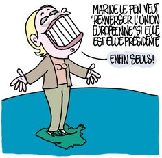 le vide https://undessinparjour.wordpress.com/2017/03/16/le-monde-selon-marine/