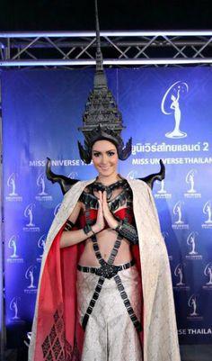 Miss Universe Thailand Nutpimon Farida Waller or Nutpimon Natthayalak (she goes by several names): This half Thai, half Austrian beauty's.