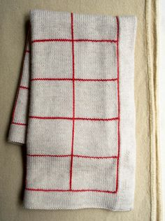 How to crochet vertical stripes on knitting - the purl bee    Lines + Squares Baby Blanket - the purl bee