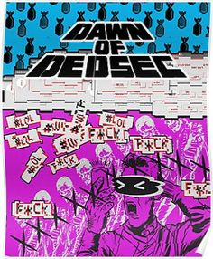 'Dawn Of Dedsec' Poster by PawandFang Cool Wallpaper, Mobile Wallpaper, Framed Prints, Canvas Prints, Art Prints, Creepy Gif, Illustrations And Posters, Art Boards, Decorative Throw Pillows