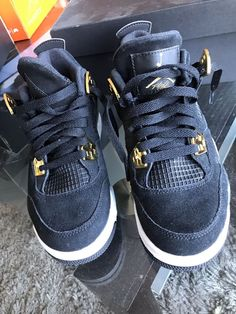 29754b1bc4ec Nike Air Jordan Retro 4 Kids SZ 4Y  fashion  clothing  shoes  accessories