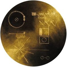 The Golden Record on the Voyager probe contains important information about humanity. Including sounds, images and instructions how to play the record. Credt: NASA