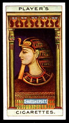 Cigarette Card - Queen Hatshepsut
