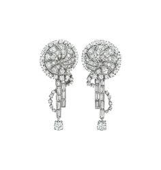 PHILLIPS : NY060114, Chaumet, A Pair of Diamond Ear Pendants