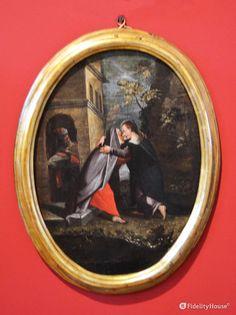 """Appartiene al ciclo """"I Misteri Rosario"""", nell'ordine è il secondo quadro dei misteri """"Gaudiosi""""."""