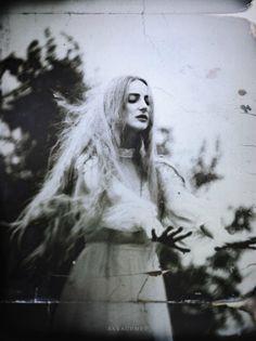 "00550: "" Rites : Malgorzata Maj, a.k.a. Sarachmet Make-up/Photo Assistant : Zana Model : Natalia Loch """
