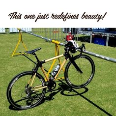 When it comes to bicycle fashion, a bamboo bike is unbeatable!  Bamboo Bicycle, Bicycle Quotes, Cycling, Things To Come, Bike, Bicycles, Instagram Posts, Fashion, Bicycling