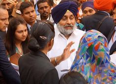 During Sangat Darshan at Jalalabad, a young woman came to thank me for Punjab Police recruitment. She was glad about the transparent process. I am happy that people of Punjab are opening up to the concept of women's job and employment. #AkaliDal #SukhbirSinghBadal #DevelopingPunjab #MogaRally #Punjab
