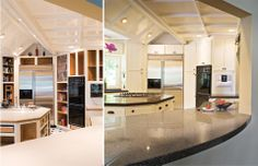 Kitchen - Before & After - Granite Transformations of Northeast Ohio