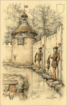 Efteling - Herautenplein Magische klok