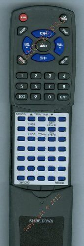 PANASONIC Replacement Remote Control for CWA75C2062, CWA75C2063, CWC80YU, CWXC60YU by Redi-Remote. $29.95. This is a custom built replacement remote made by Redi Remote for the PANASONIC remote control number CWA75C2063. *This is NOT an original  remote control. It is a custom replacement remote made by Redi-Remote*  This remote control is specifically designed to be compatible with the following models of PANASONIC units:   CWA75C2062, CWA75C2063, CWC80YU, CWXC60YU, CWXC80Y...
