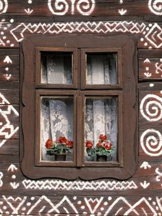 walter-bibikow-window-of-wooden-built-cottage-cichany-central-slovakia