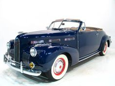 1940 La Salle 52 Convertible...looks a lot more racier than its' companion, the Cadillac...