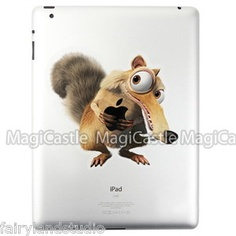 the Ice age Apple iPad 2 vinyl Decal humor Skin Sticker