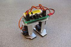 An Attiny85 IR Biped Robot