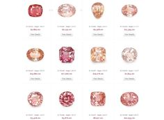 peach-padparadscha-sapphires-selection