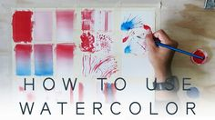 WATERCOLOR TUTORIAL - Wet on Dry Techniques // Part One