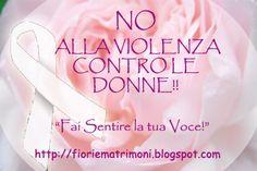 Diffondente...è importante!!  http://makeupeliza.blogspot.it/2013/03/fai-sentire-la-tua-voce-basta-violenza.html