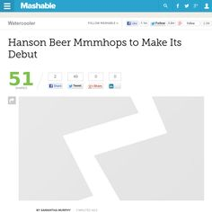 http://mashable.com/2013/05/24/hanson-beer/ Hanson Beer Mmmhops to Make Its Debut | #Indiegogo #fundraising http://igg.me/at/tn5/