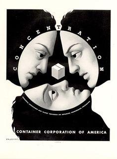 A. M. Cassandre, Concentration, 1937