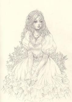 Illustration by Jasmin Darnell http://yasahime.tumblr.com/