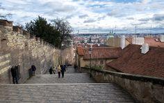 Castle Stairs Prague Castle, Sidewalk, Stairs, Stairway, Side Walkway, Walkway, Staircases, Ladders, Walkways
