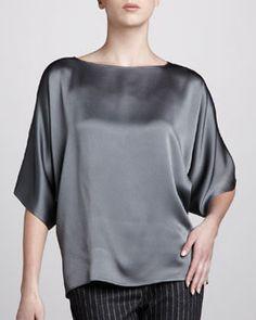 Slate blouse. Love.