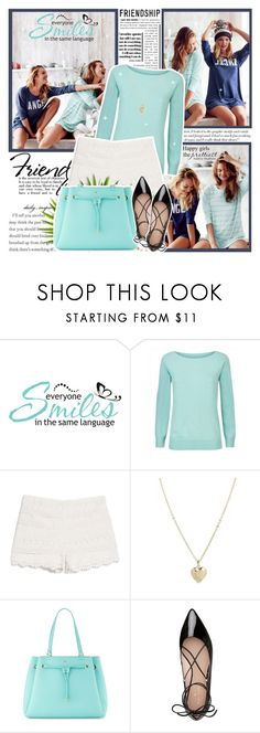 """""""Friendships & Smiles"""" by l33l ❤ liked on Polyvore featuring Victoria Beckham, WALL, Jaeger, MANGO, ASOS and Kate Spade"""