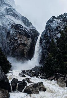 Yosemite Falls Yosemite National Park, National Parks, Landscape Photography, Nature Photography, Travel Photography, Rio, Yosemite California, Grandeur Nature, Yosemite Falls