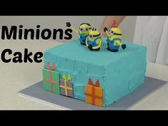 Minion figurine tutorial #cakestyle