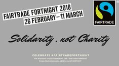 We are supporting #fairtradefortnight organised by @fairtradeuk . Because we believe change can start small and then ripple out. We believe that the one step you take to buy that one #Fairtrade product can have a far reaching impact on someone's life. So, we are offering a 15% discount on our Fairtrade #homewares