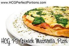 Try this HCG P3 recipe that uses a low-carb flat bread as crust... save many grams of carbs with this simple HCG recipe! http://www.hcgperfectportions.com/