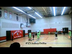 Win by 14 points. Joshua Delfin with his sick cross over step back! Sick, Basketball Court, Dolphins