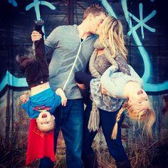 Família <3 #crianca #menino #menina #casal #beijo #amor