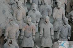Terakotowa Armia Xi'an/ Xi'an China