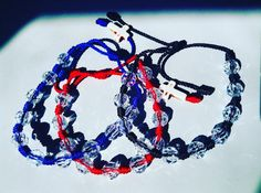 Hand Made Transparent Beaded Knotted Rosary by UncommonEmpire[FREE SHIPPING]