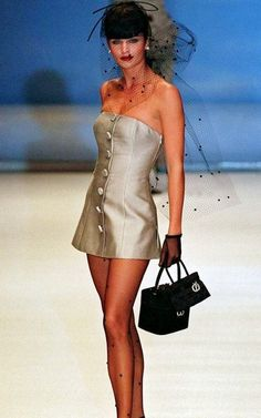 Helena Christensen for Christian Dior Spring/Summer 1996