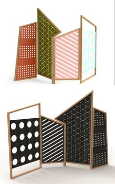 Iron screen OPTO Opto Collection by Colé Italian Design Label | design @lorenzkaz
