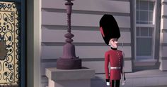 https://vimeo.com/41827408  A palace guard befriends a pest. My 4th year film made at Calarts.