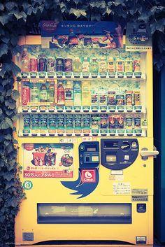 Japan, vending machine