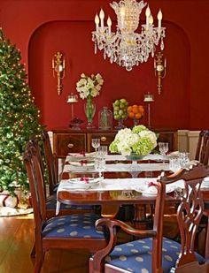 Dazzling Holiday Dining Rooms   Midwest Living